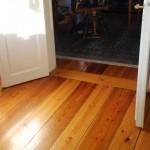 Kilsågat golv med skarvbräda