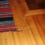 Kilsågat golv från Bäsinge Såg och Hyvleri